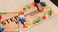 Pre-Printed Message Mats